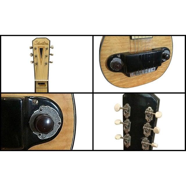 1930s Silvertone Birdseye Maple Lap Steel Guitar - Image 4 of 5