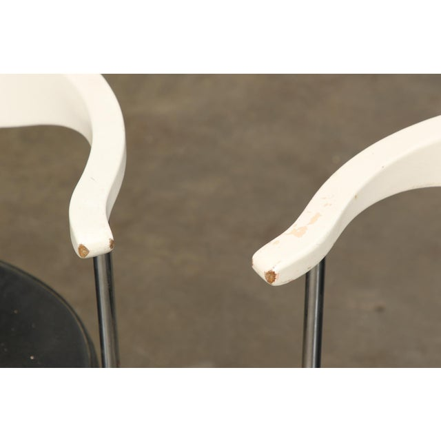 Frederik Sieck for Fritz Hansen Chairs - Set of 4 - Image 7 of 11