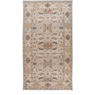 21st Century Modern Sultanabad Oversize Wool Rug 13 X 24 For Sale