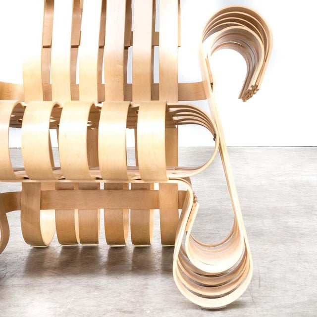 1990s 1990s Vintage Frank Gehry for Knoll International Power Play Chair For Sale - Image 5 of 8