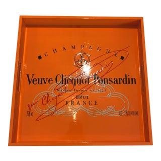 Custom Made Veuve Clicquot Tray