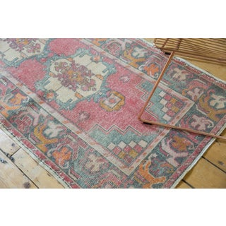 """Vintage Distressed Oushak Rug Runner - 3' X 9'8"""" Preview"""
