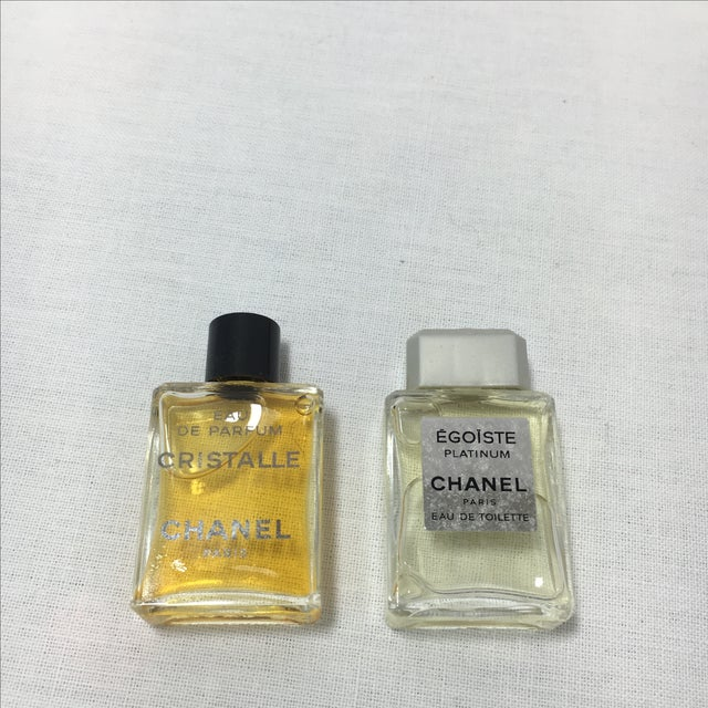 Vintage Collection of Mini Chanel Perfumes - Set of 9 For Sale - Image 5 of 6