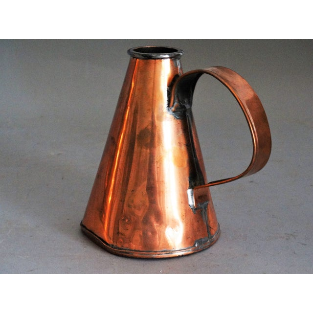 1910s English Copper Pint Tavern Ale Jug For Sale - Image 5 of 8