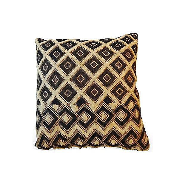African Kuba Pillow - Image 3 of 5