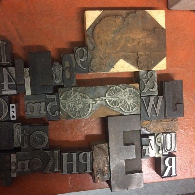 Print Letter Blocks - Set of 49 - Image 4 of 8