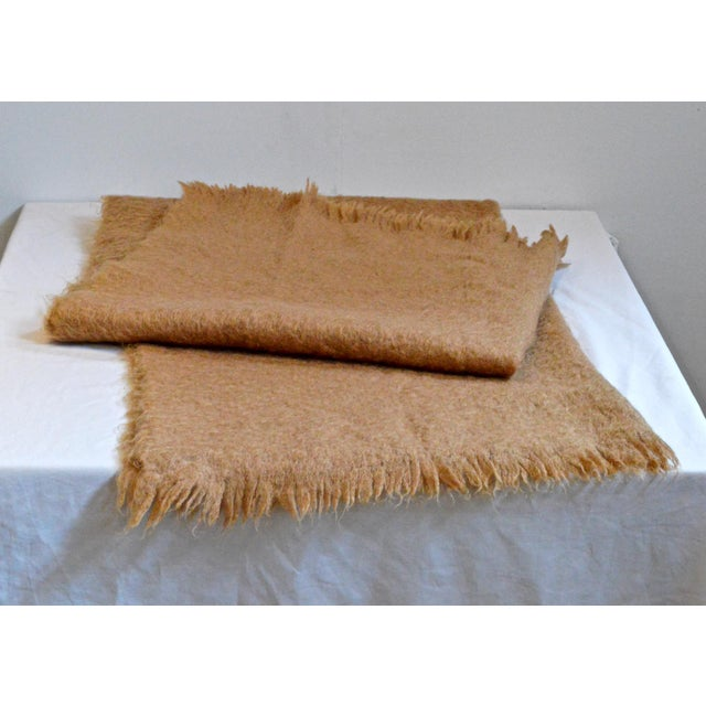 Scottish Mohair Throw For Sale - Image 5 of 8