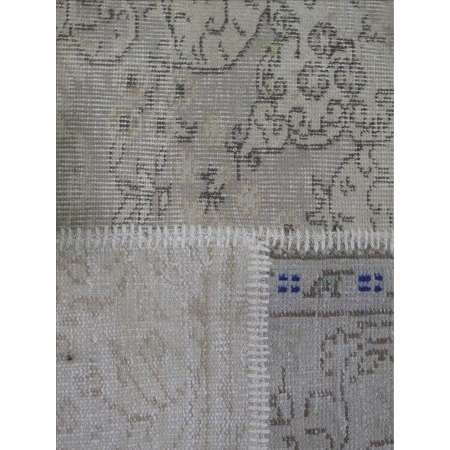 Vintage Patchwork Turkish Rug - 8′1″ × 10′1″ For Sale - Image 5 of 6