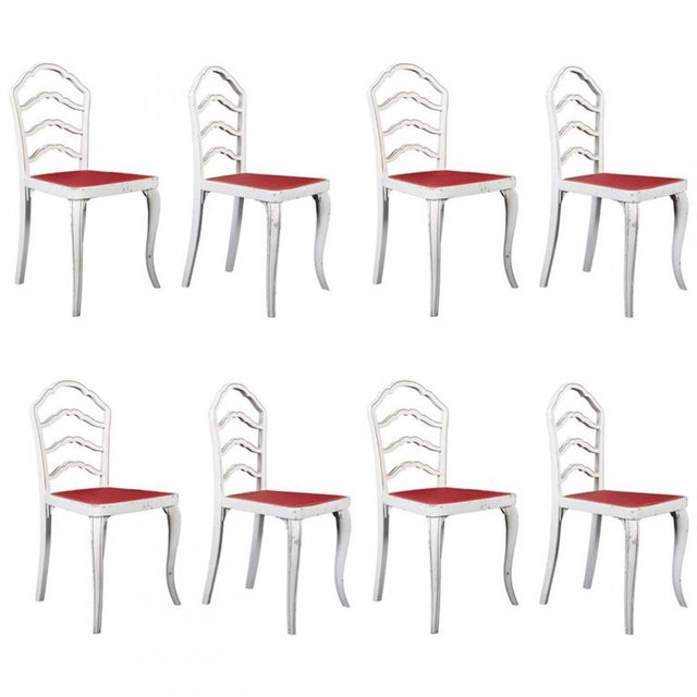 Dining Chairs by Thonet, 1930 - Set of 8 For Sale - Image 11 of 11
