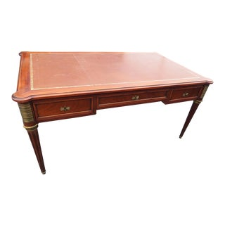 Maison Jansen Louis XVI Style Leather Top Desk