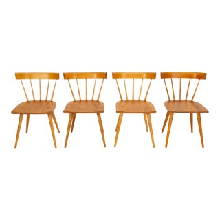 Set of Four Planner Group Chairs by Paul McCobb For Sale