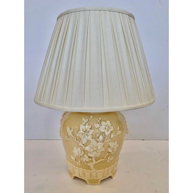 Chinoiserie Ceramic Table Lamp For Sale - Image 11 of 11