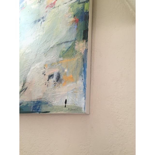 2010s Large Original Abstract Landscape Titled 'Somewhere, Maybe' For Sale - Image 5 of 7