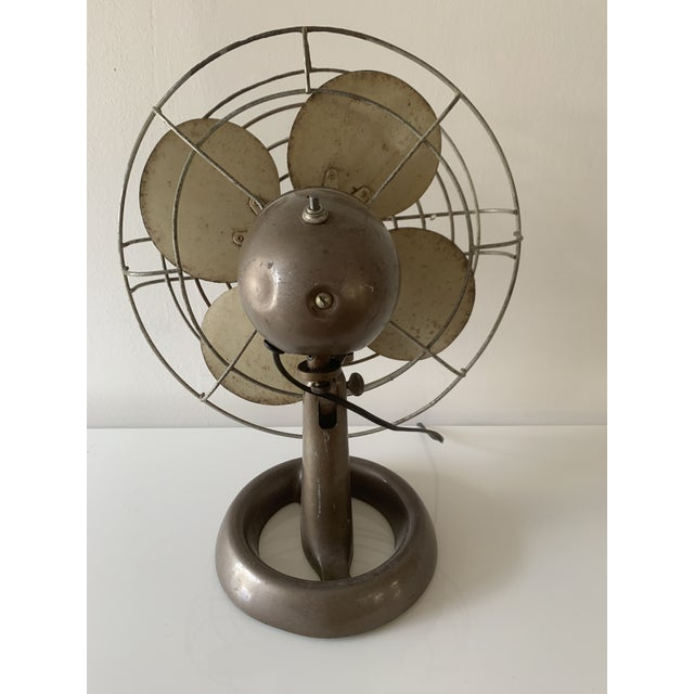 1950s Emerson Vintage Fan For Sale - Image 5 of 12