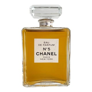 Vintage Chanel Factice Perfume Store Display For Sale