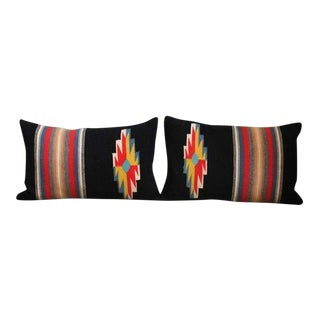 Pair of Rio Grande Vallero Woven Pillows For Sale