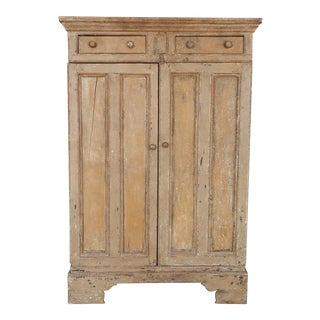 Antique 19th Century Primitive Irish Cabinet