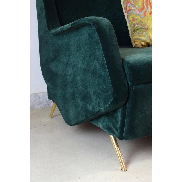 Italian Vintage Midcentury Sofa, 1950s For Sale - Image 9 of 12
