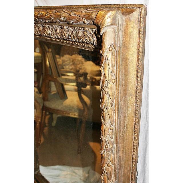 Antique Gilt Gesso Mirror - Image 6 of 7