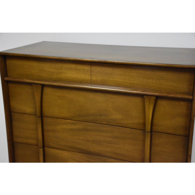 Albe Furniture Mid-Century Modern Tall Dresser For Sale - Image 5 of 8