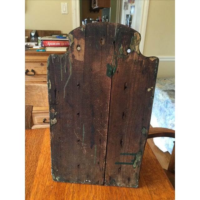 Antique Rustic Spice Box - Image 7 of 8