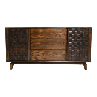 Paul Laszlo Brown Saltman Credenza For Sale