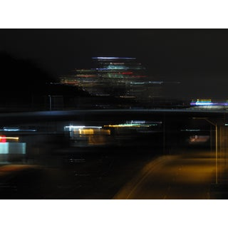 Contemporary Abstract Cityscape Photographic Color Print For Sale
