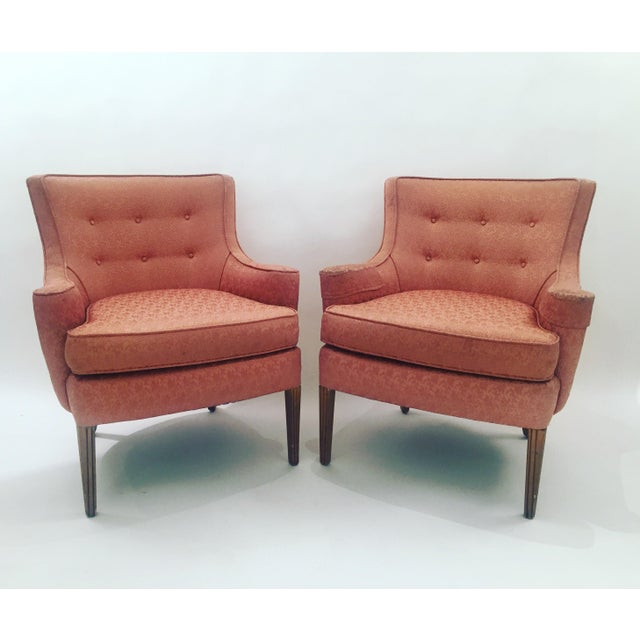 Italian Mid-Century Curved Arm Chairs - A Pair - Image 11 of 11