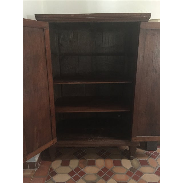 Dutch Colonial Style Armoire For Sale In Miami - Image 6 of 7