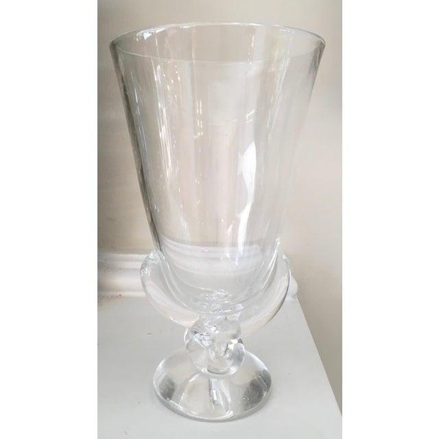 Vintage Signed Steuben Crystal Vase By George Thompson Chairish