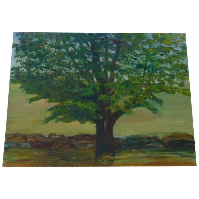 MCM Painting of Large Tree by H.L. Musgrave - Image 1 of 6