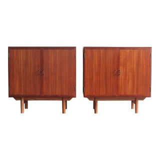 1960s Danish Modern Teak Side Tables - a Pair For Sale