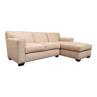 RJones Hampton 2-Piece Modular Sofa For Sale
