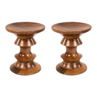 Pair Time-Life Stools by Charles and Ray Eames For Sale