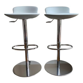 Room and Board Leo Swivel Stools - Set of 2 For Sale