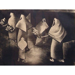 WPA-Style Lithograph, 1930s For Sale