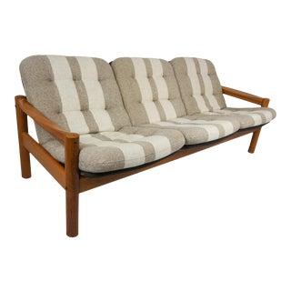 Mid Centruy Domino Mobler Teak Danish Sofa For Sale