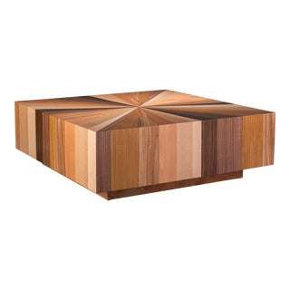 Darryl Coffee Table, Mixed Wood For Sale