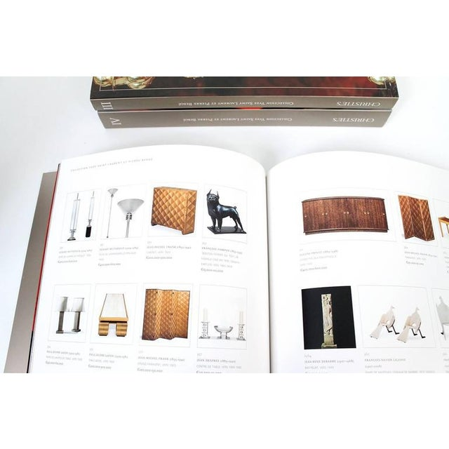 Complete Catalog Set Yves Saint Laurent and Pierre Bergé Auction at Christie's For Sale - Image 9 of 11