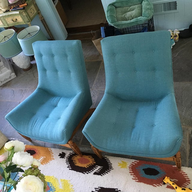 Mid-Century Gondola Chairs - A Pair - Image 5 of 6