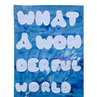 """""""What a Wonderful World"""" Painting by Virginia Chamlee For Sale"""