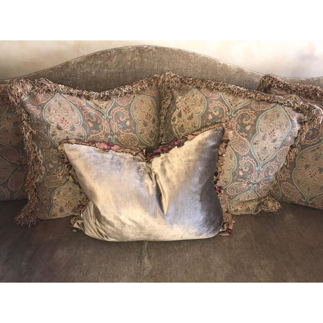 Marge Carson Style Sofa For Sale - Image 4 of 8
