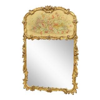 Regency Style Trumeau Mirror