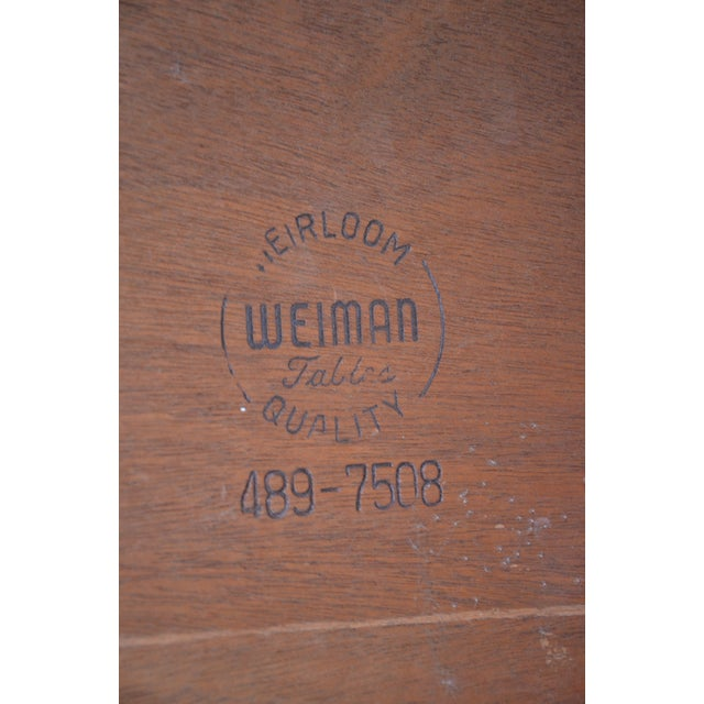 Weiman Weiman Heirloom Quality End Table For Sale - Image 4 of 5
