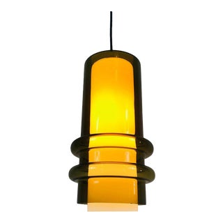 Extraordinarry Glass Pendant Lamp by Tapio Wirkkala, 1960s For Sale