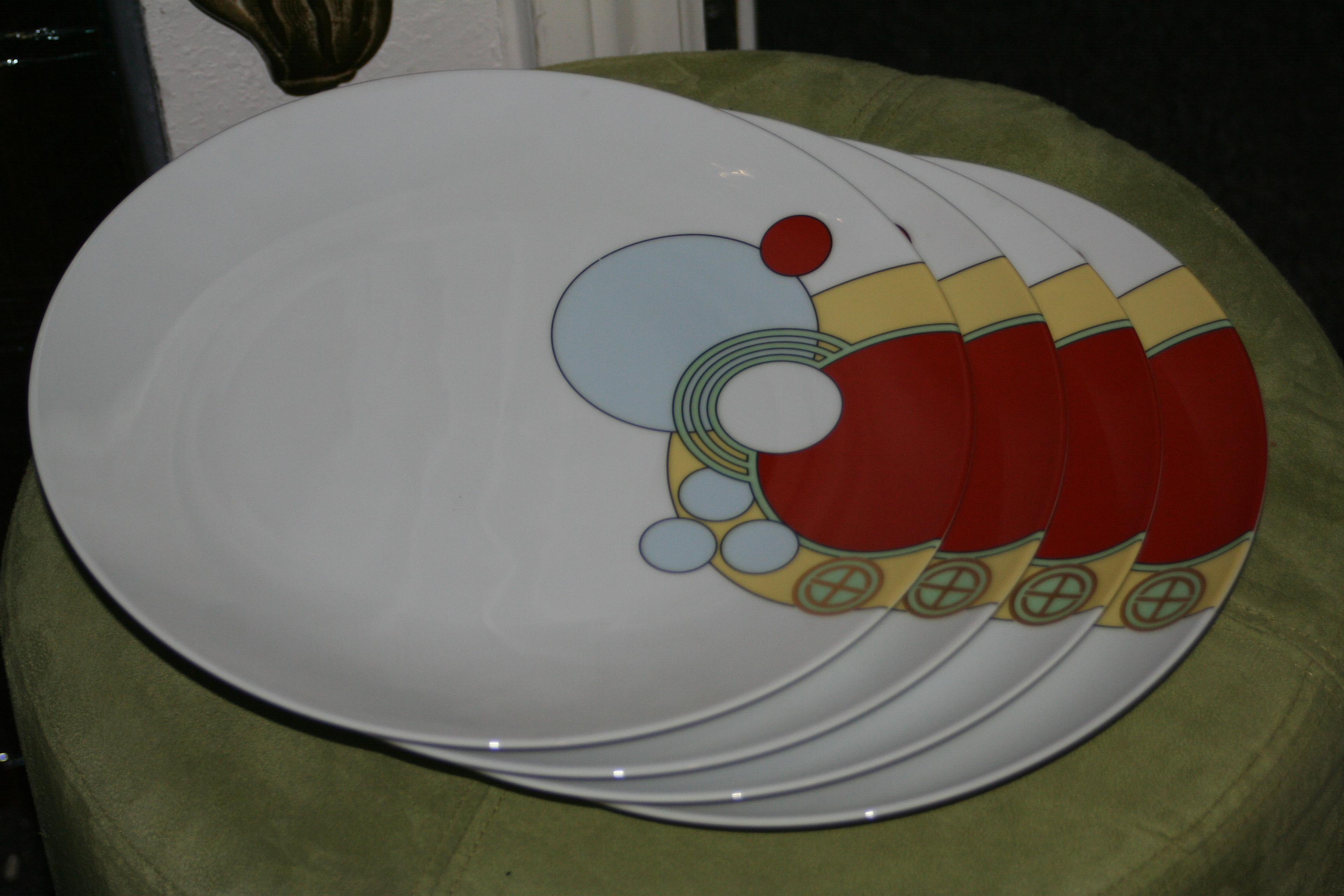 Frank Lloyd Wright for Noritake Imperial Hotel Dinnerware - 18 Pc. - Image 10 of  sc 1 st  Chairish & Frank Lloyd Wright for Noritake Imperial Hotel Dinnerware - 18 Pc ...