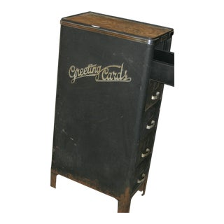 American Greeting Cards Filing Cabinet For Sale