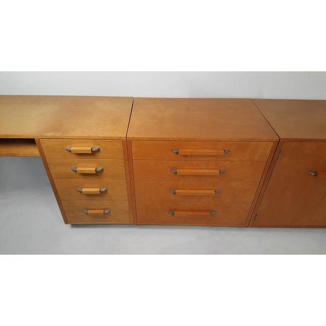 'Flexible Home Arrangement' Modular Birch Cabinet System by Eliel Saarinen - Image 5 of 8
