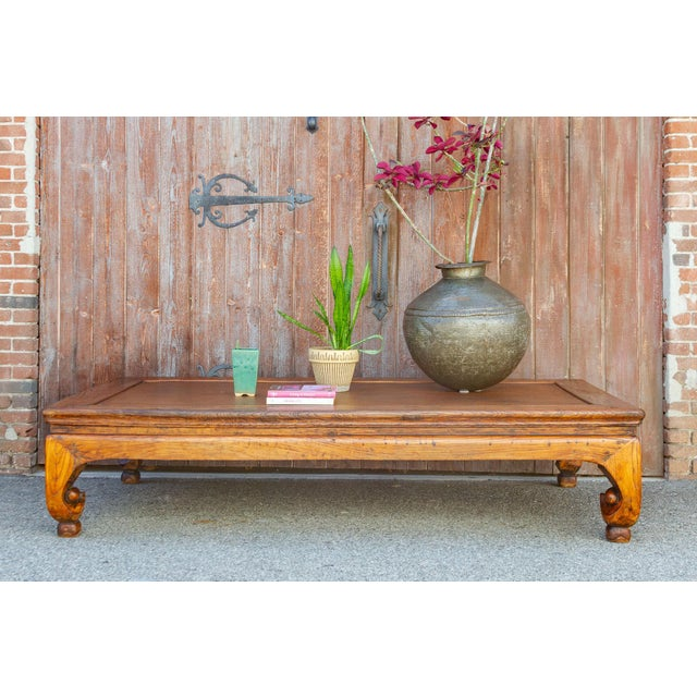 Brown Grand Antique Opium Table For Sale - Image 8 of 10