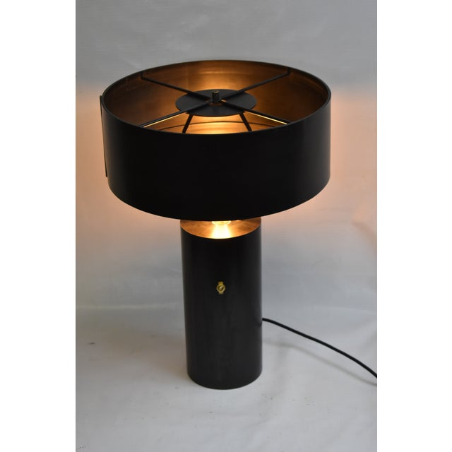 2010s Doug Werner for Oblik Studio Salzbourg Table Lamp With Shade For Sale - Image 5 of 5